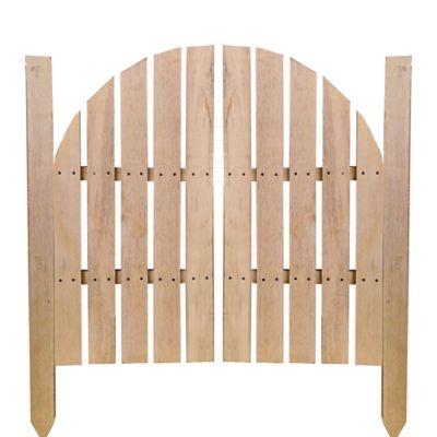Puerta para Jardín Cedro Blanco o Pino 130x0.55cm 2Hojas