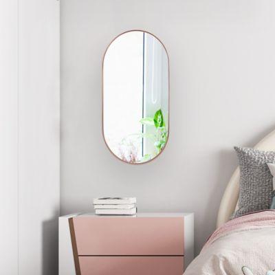 Espejo Ovalado 30x60 cm Cobre