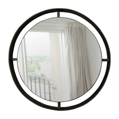 Espejo Londra 65 cm Negro