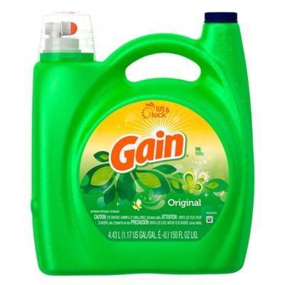 Detergente Líquido Gain Original 96 Lavadas