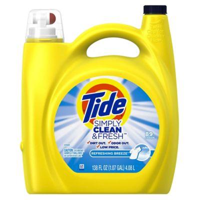 Tide Simply Líquido Clean & Fresh 4/128Z 89 Lavadas