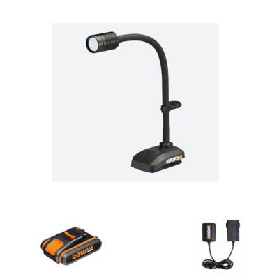 Linterna Led Flexible Inalámbrica 20V WX028 KA120