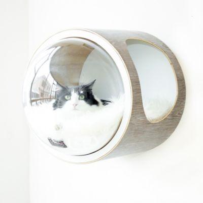 Casa para Gatos Mododomo Flotante Gris