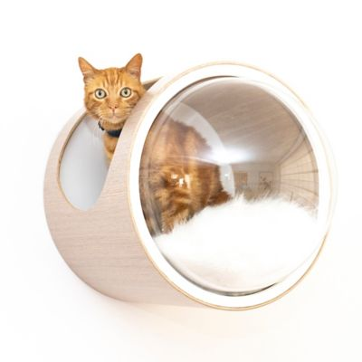 Casa para Gatos Mododomo Flotante Gris Plata