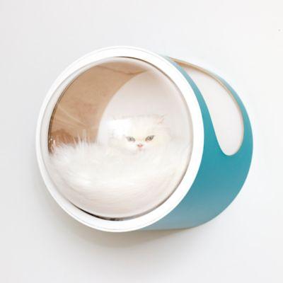 Casa para Gatos Mododomo Flotante Turquesa