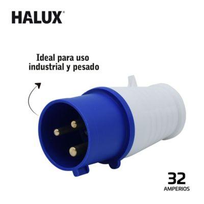 Plug Aereo Macho Industrial De 3 Polos Halux