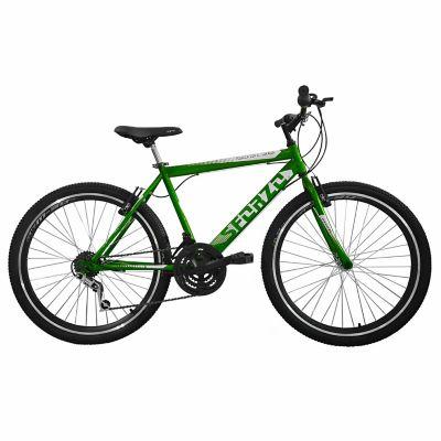 Bicicleta Todoterreno R26 Doble Pared 18Vel Verde