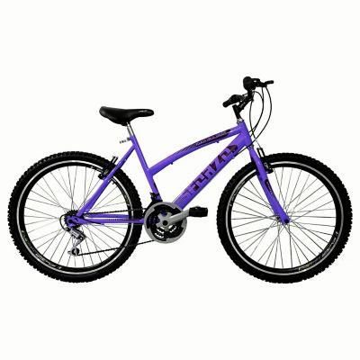Bicicleta Dama R26 Doble Pared 18Vel Morado
