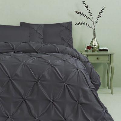 Duvet Doble 200x240 cm Pellizcos Negro