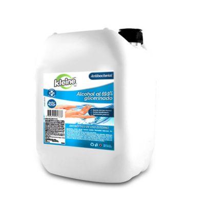 Alcohol Glicerinado Antibacterial Kleine 20 Litros