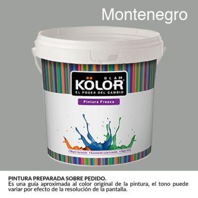 Pintura para Interior Gris Montenegro Deluxe Mate 1 Galón