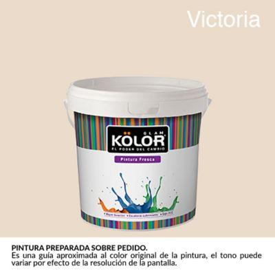 Pintura para Interior Rosa Victoria Deluxe Mate 1/2 Galón