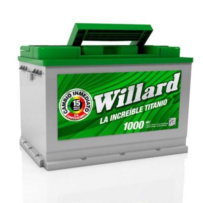Bateria Caja 48I 1000 Willard Titanio