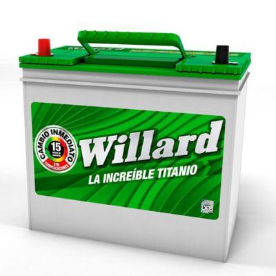 Bateria Caja Ns60I-750T Willard Titanio