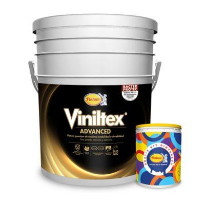 Pintura para Interior y Exterior Máxima Lavabilidad 5 Galones Blanco GRATIS Kit Pinturero