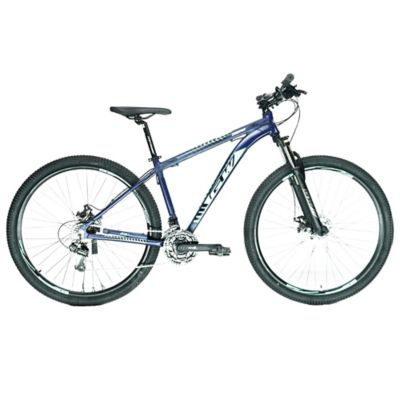 Bicicleta Montaña Gw Zebra 9.1-7 Vel T17 Azul Petróleo