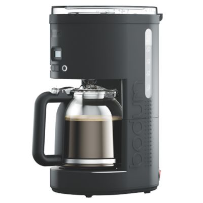 Cafetera Programable Negra 1.5 L - 12 Tzs