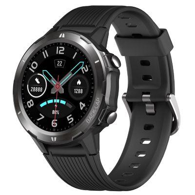 Reloj Smartwatch 2160 con Doble Pulso Negro y Naranja