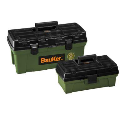 Kit Caja Herramientas Eco 20-pulg + 14-pulg Bauker