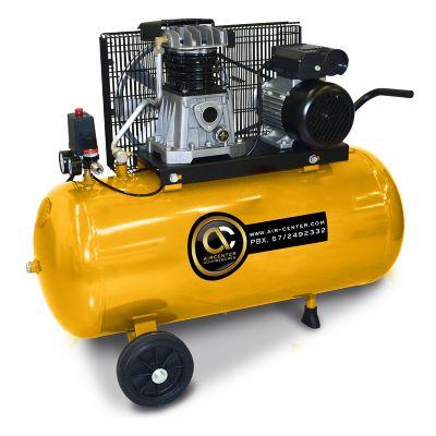 Compresor Piston 2HP Horizontalontal con Ruedas 220/60/ Tanque 150L