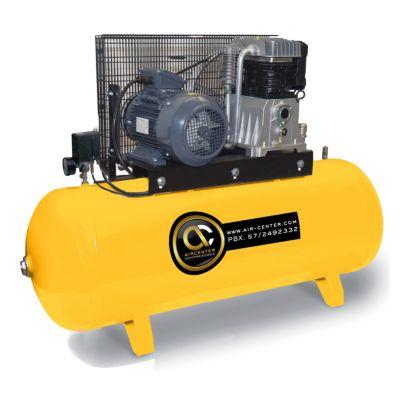 Compresor Piston 7.5HP Horizontal 220/60/1 Tanque 300L