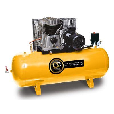 Compresor Piston 5.5HP Horizontal 220/60/1 Tanque 300L