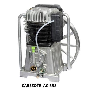 Cabezote 598 para Compresor de Piston - 5HP