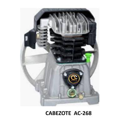 Cabezote 268 para Compresor de Piston - 2HP
