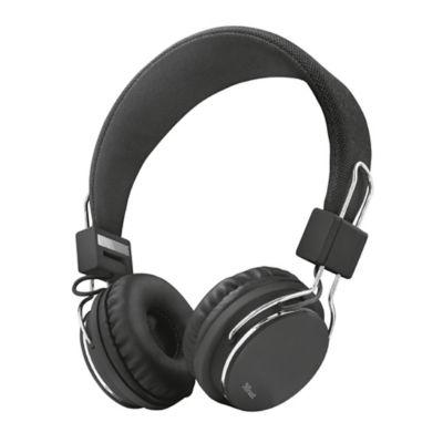 Audífonos Diadema Alámbrico Negro