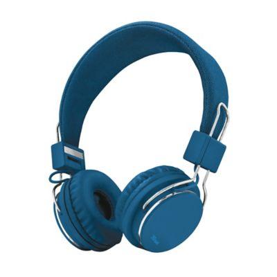 Audífonos Diadema Alámbrico Azul
