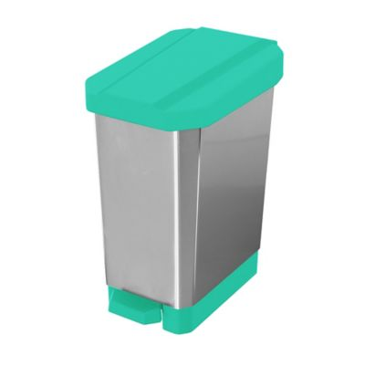 Caneca Papelera Estrabins Pedal 22 Litros Verde - Metal