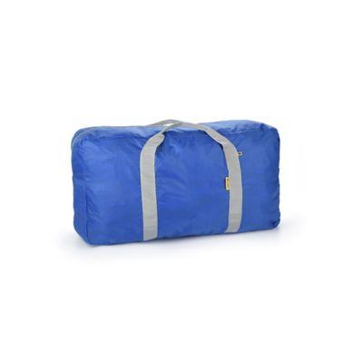 Bolso de Viaje Plegable 48Lt Azul-Negro