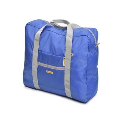 Bolso de Viaje Plegable 30Lt Azul-Negro