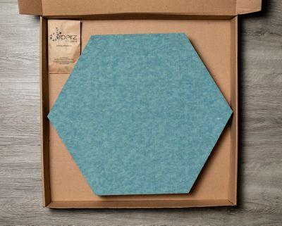 Tapete Diperz 8 Tabletas 40x35 cm Modular Hexagonal