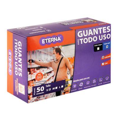 Guante Latex Corto Antibacterial Reutilizable Cal10 Talla S 50 Unidades