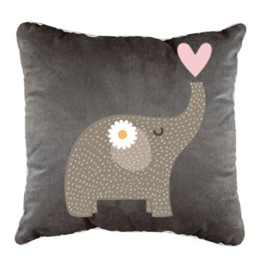 Cojín Baby Elephant 45x45 cm Gris