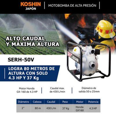 Kit Bomba Alta Presion 2Pulg y Manguera Descarga