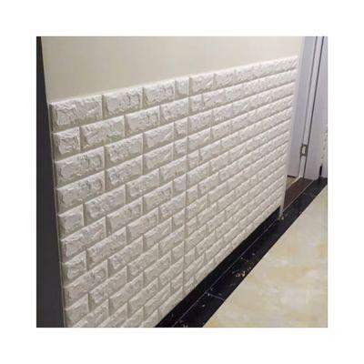 Panel Adhesivo Ladrillo Blanco71X77Cm Cjx 12Und