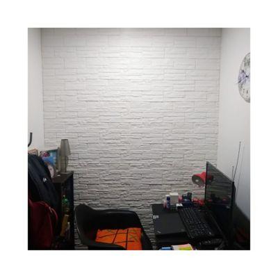 Panel Adhesivo Roca Blanca 71X77 Cm Cj x 12Paneles