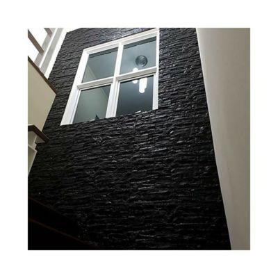 Panel Adhesivo Roca Negra 71X77Cm Cj x 3 Paneles