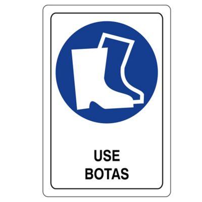 Señal Obligacion Use Botas 22X15 C.20