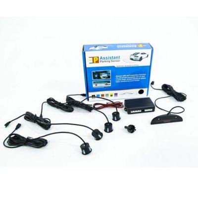 Sensor Parqueo Con Display Led Negro 4 Sensores