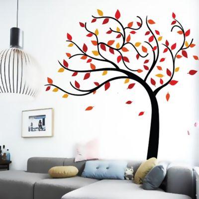Vinilo Árbol de Tres Colores 170x165