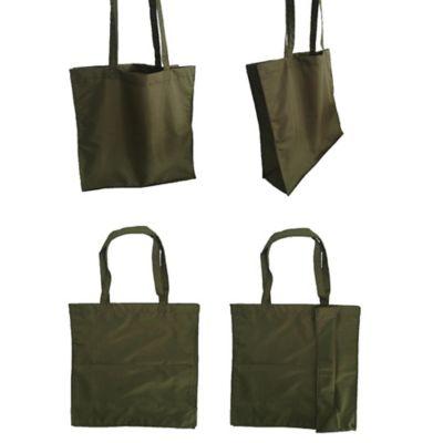 Bolsa Reutilizable Compras Mercado Verde Oliva