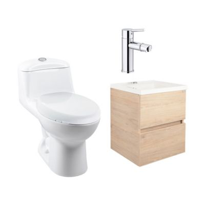 Combo De Baño Tarento Roveré 45 Smart Single Alongado