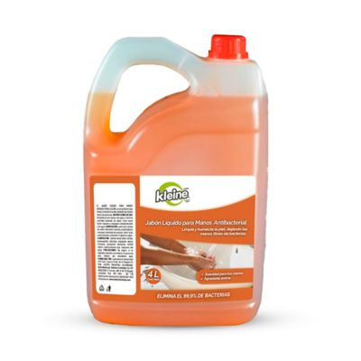 Jabon Liquido Antibacterial x4.000ml Kleine