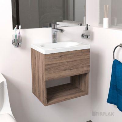 Mueble De Baño Eco 40x30 Blanco Mueble Rayo Daqua