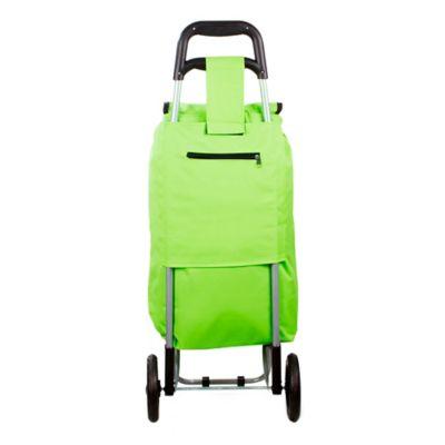 Carro Mercado Plegable 92x35x32 cm Verde