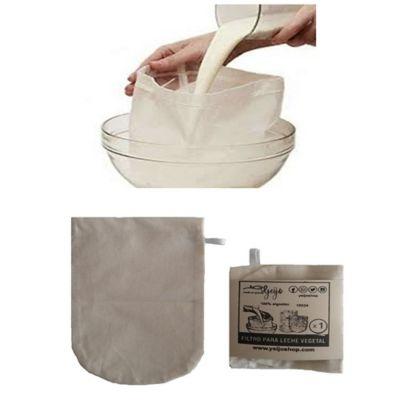 Bolsa o Filtro Reutilizable Leche Vegetal Oval