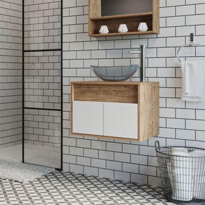 Mueble Lavamanos Flotante Serena 45x60x46 cm Duna SIN lavamanos